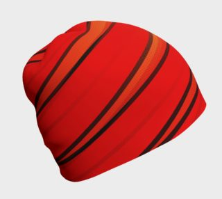 Wrap Me Up in Red and Orange Beanie preview