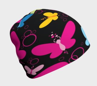 Neon Butterflies Beanie preview