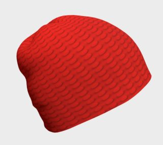 Red Building Blocks Beanie preview