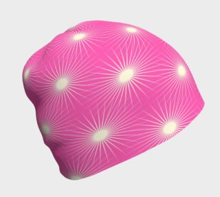 Starbursts on Pink Beanie preview