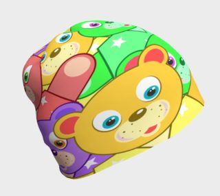 Aperçu de Bright Teddy Bears Beanie