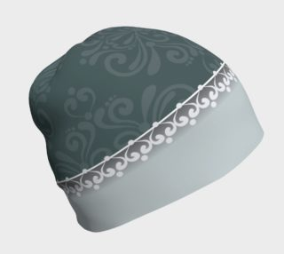 Blue Damask Beanie preview