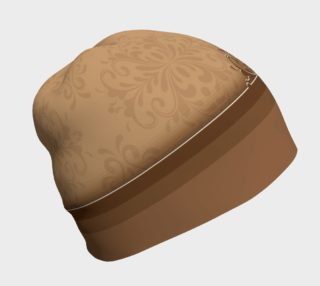 Brown Damask Beanie preview