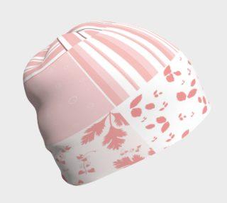 Aperçu de Pink Americana Quilt Beanie