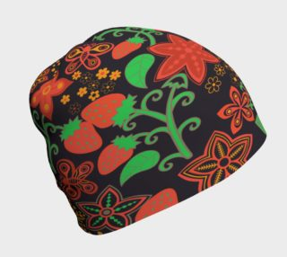 Strawberries In the Exotic Garden Beanie preview