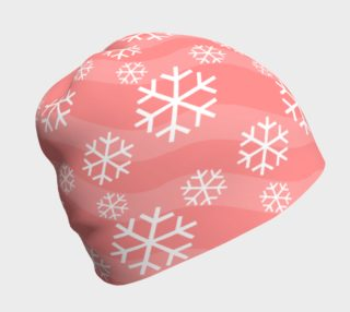 Aperçu de Snowflakes on Pink