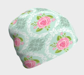 Shabby Chic Damask Beanie preview