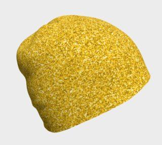 Aperçu de Gold Glitter Beanie