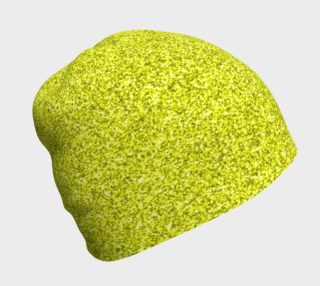 Lime Green Glitter Beanie preview