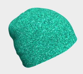 Teal Green Glitter Beanie preview