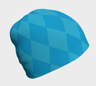 Harlequin Blue Beanie preview