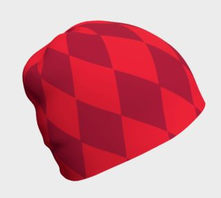 Harlequin Red Beanie preview