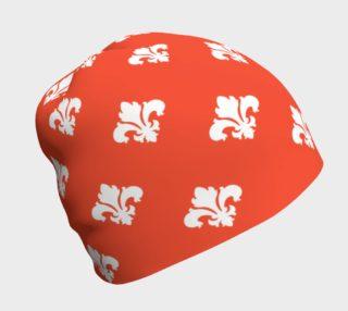 Red Fleur-de-Lis Beanie preview