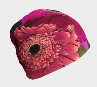 Bright Daisy Beanie by PhotoGrahpic Artistry by Heather J Kirk preview