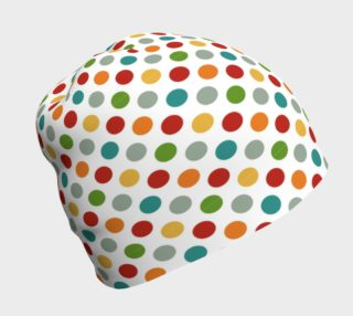 Fun Polka Dots Beanie preview
