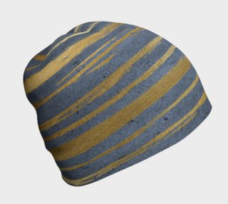 Golden Painterly Beanie preview