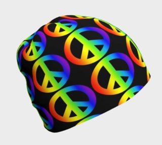Retro Rainbow Peace Symbol preview