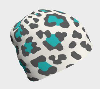 Aperçu de Blue Leopard Beanie