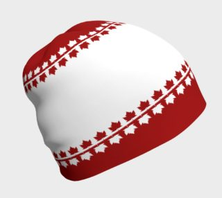 Canada  Flag Beanie Cap Canada Toque Flag Hat preview