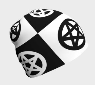 Black and White Pagan Pentacle preview