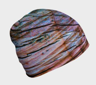 Colorful Aged Wood Beanie Cap preview