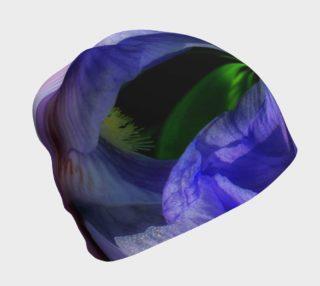 Iris Orb Tie Dye Effect Beanie Cap preview