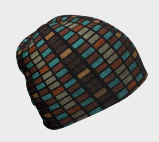 Aperçu de Multicolored Tiles Beanie Hat