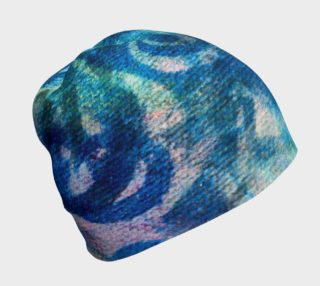 Blue Swirl Beanie preview