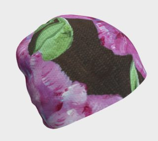 Pink Peony Beanie  preview