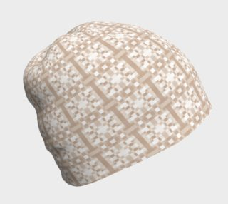 Beige and Cream Pixel Pattern Geometric preview