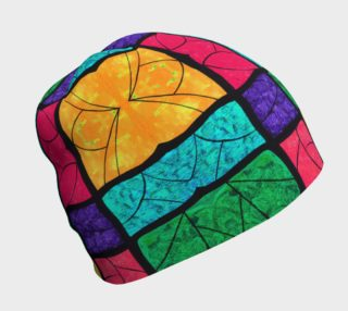 Nouveau Stained Glass Beanie  preview