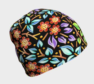 Filigree Floral Beanie preview