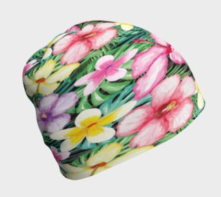 Tropical Floral Beanie preview