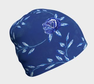 Blue Flowers Beanie preview