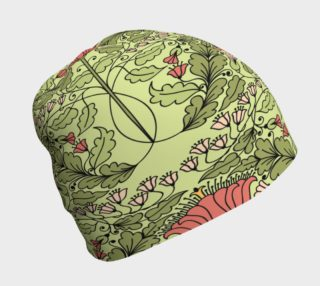 Art Nouveau Floral Beanie preview