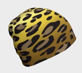 Golden Leopard Beanie preview