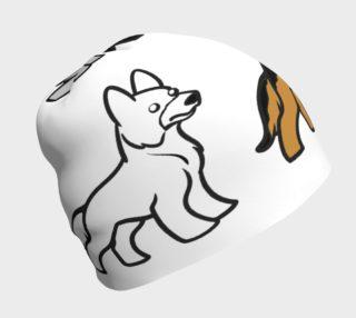 German Shepherd colors cartoon beanie preview