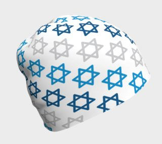 Aperçu de Star of David Hanukkah Beanie