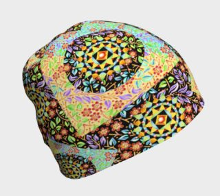 Filigree Floral Patchwork Beanie preview