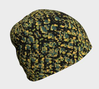 Utility Green Beenie by Mary Lou Watson Design preview
