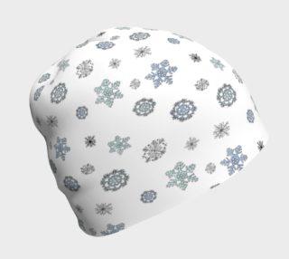 Snowflakes Beanie preview