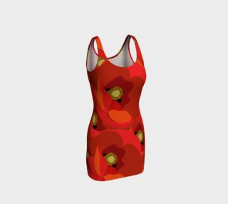 Poppies Bodycon Dress preview