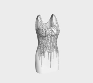 Circuit Board Dress preview