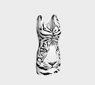 White Tiger Bodycon Dress preview