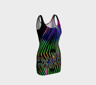 Aperçu de Neon Butterfly Trim Dress