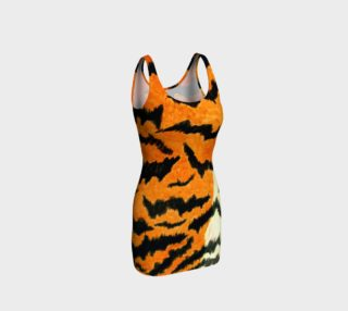 Orange tiger fur preview