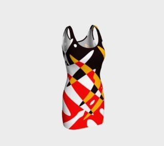 4 Nations Contemporary Art Dress preview