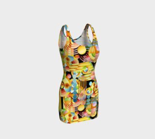 Aperçu de Art Deco Maximalist Bodycon Dress