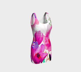 Pink Pleasure Bodycon Dress by Deloresart preview