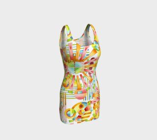Aperçu de Art Deco Party Fitted Dress